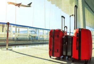 Valises à l'aéroport