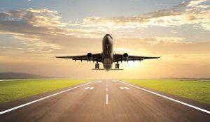 Décollage d'un avion