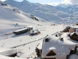 val thorens station de ski plus haute altitude europe